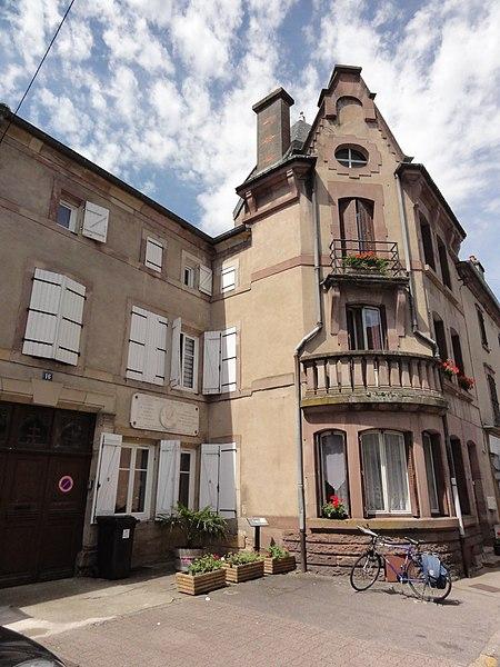 Badonviller (M-et-M) maison Charles Mesnier
