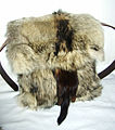 Bag of coyote and fitch fur skin, 2011.jpg