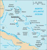 Nassau Bahamas Map Riu Palace Paradise Island