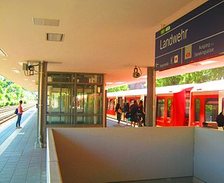 Landwehr station railway station in Hamburg, Germany