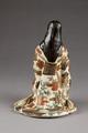 Baksidan av japansk figur från 1800-talet - Hallwylska museet - 96045.tif