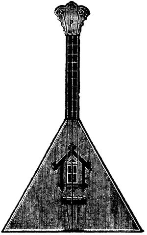 Russian traditional music - Balalaika