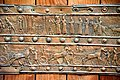 Balawat gate of Shalmaneser, derail, Bronze strip, the British Museum in London.jpg