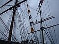 Balclutha main & mizzen masts.JPG
