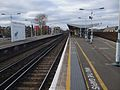 Balham station mainline northbound slow platform look north.JPG
