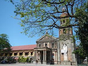 Saint Augustine Parish Church (Baliuag) - Facade of Saint Augustine of Hippo Parish Church in Baliuag