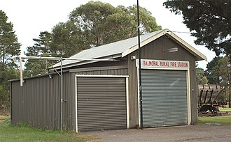 Balmoral, New South Wales (Southern Highlands) - Image: Balmoral Rural Fire Station