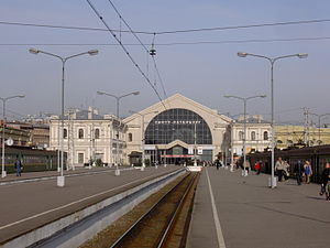 Baltiysky Railway station - Image: Baltic Rail Terminal 004