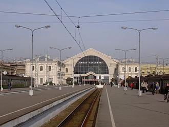 Baltiysky Railway station - Image: Baltic Rail Terminal 004