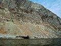 Banded sediments, An Garradh - geograph.org.uk - 1752044.jpg