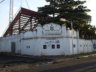 Estádio Antônio Lins Ribeiro Guimarães - Estádio Antônio R. Guimarães