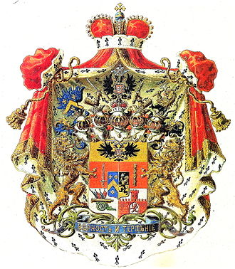 Barclay de Tolly (Russian nobility) - The coat of arms of Prince Barclay de Tolly-Weymarn