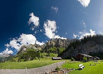 Chablais Alps - Image: Barme