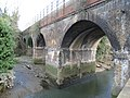 Barnes Cray, Railway viaduct over the River Cray - geograph.org.uk - 715160.jpg