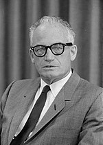 U.S. Senator Barry Goldwater, the Institute's namesake