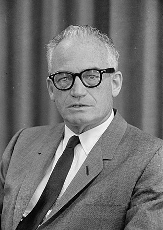 1964 United States presidential election in North Carolina - Image: Barry Goldwater photo 1962