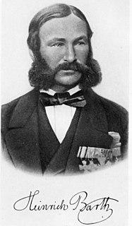 Heinrich Barth German explorer