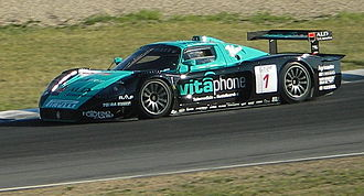 Vitaphone Racing - Michael Bartels racing a Maserati MC12 GT1 in the 2006 FIA GT