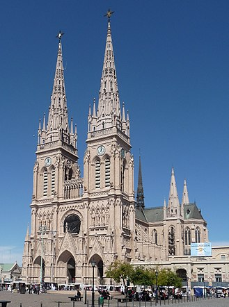 Basilica of Our Lady of Luján - Image: Basilica de Nuestra Senora de Lujan