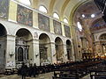 Basilica del Carmine, interno, parete sinistra (Padua).JPG