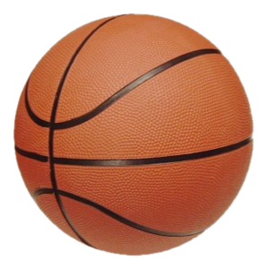 Basketball (ball) - A typical basketball