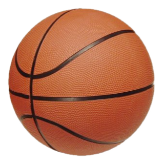 Basketball (ball) spherical inflated ball