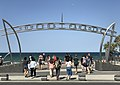 Beach entrance at Surfers Paradise, Queensland.jpg