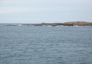 Swona - The beacon on The Tarf, Swona