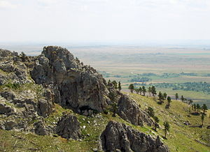 Bear Butte - View from saddle