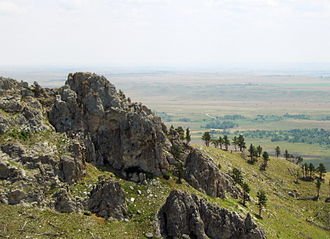 Bear Butte, in Meade County Bearbutte4 SD view below.jpg