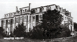 Bebrene Manor - Bebrene Manor in the early 20th century.
