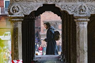 Doctor Strange (2016 film) - Cumberbatch filming Doctor Strange in Kathmandu, November 2015