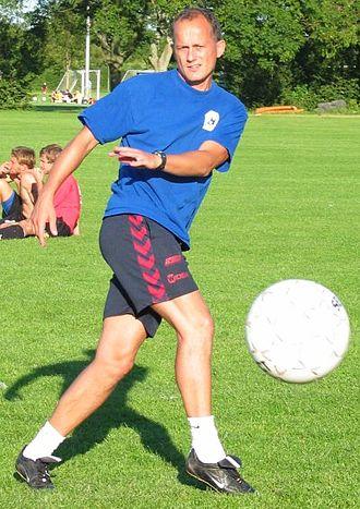 Bent Christensen Arensøe - Bent Christensen as head coach for Værløse BK in 2004