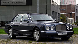 Bentley Arnage R (Facelift) – Frontansicht (1), 3. September 2012, Düsseldorf.jpg