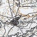 Berezhnytsia, 1917, map.jpg