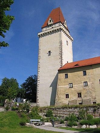Freistadt - Image: Bergfried beim Schloss