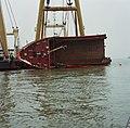 Berging kruiplijn Coaster Susanne in de Westerschelde door de firma Smit tak ID52517.jpg