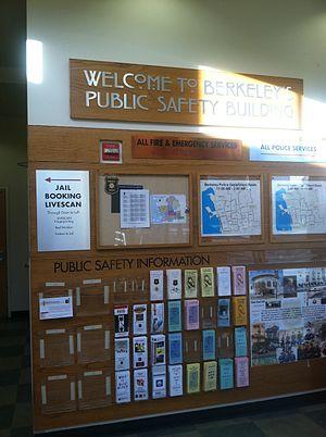 Berkeley Police Department - Berkeley Police Department, Ronald Tsukamoto Public Safety Building interior