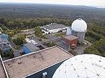 Berlin Teufelsberg NSA Field Station, look down from big tower - panoramio.jpg