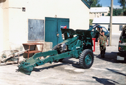 Bermuda Regiment 25 Pounder Field Gun