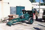 Bermuda Regiment 25 Pounder Field Gun