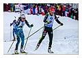 Biathlon Annecy Le Grand Bornand 2017 5 - BRAISAZ Justine (FRA) - 11 - DAHLMEIER Laura (GER) (39168756332).jpg