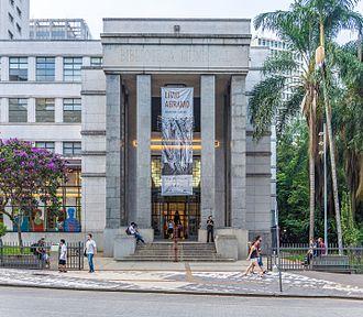 Mário de Andrade - Mário de Andrade Library, São Paulo