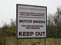 Bikers not welcome - geograph.org.uk - 774577.jpg