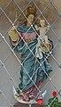 Bildstock mit Jungfrau Maria holzgeschnitzt in Völs am Schlern.JPG
