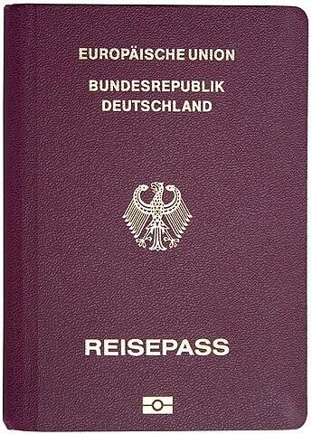 Pasaporte Alemania