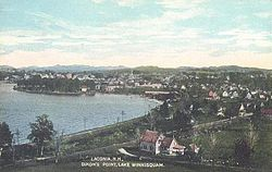 Bird's-eye view, Laconia c. 1911