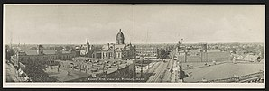 Findlay, Ohio - Bird's-eye view of Findlay, c.1906