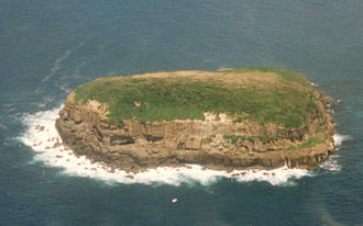Bird Island Nature Reserve - Image: Bird Island NSW Aerial view 14 1 1996
