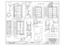 Bishop Michael Portier House, 307 Conti Street, Mobile, Mobile County, AL HABS ALA,49-MOBI,38- (sheet 4 of 9).png